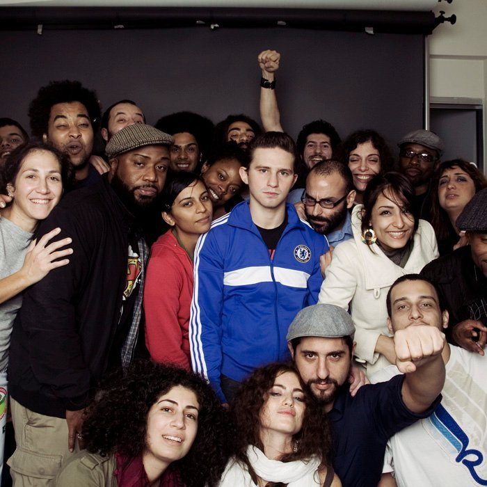 The Lo Frequency and many of Lebanon's hip-hop family. Lens: Karen Kalou©
