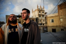 I-Voice in Burj al Barajneh Palestinian refugee Camp - Image by Laith Majali