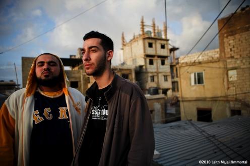 I-Voice in Burj al Barajneh Palestinian refugee Camp - Image by Laith Majali