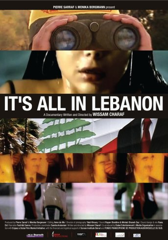 Official poster for It's all in Lebanon