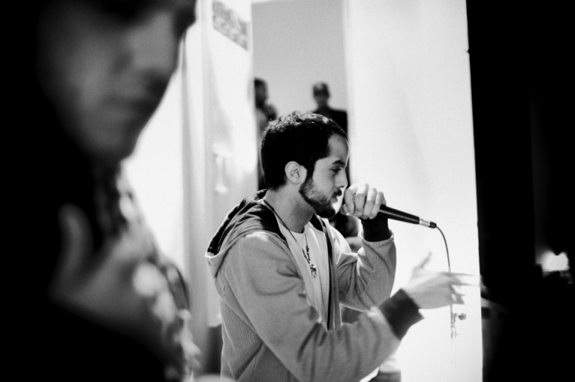 Boikutt at the Voice of the Streets event in Cairo - Nov. 2011. Photo: Laith Majali