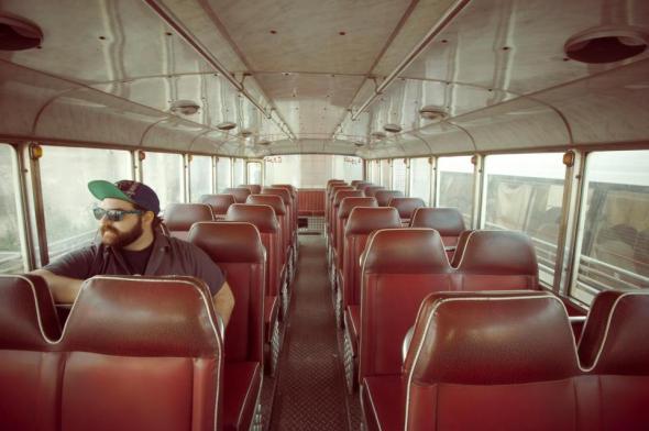 allan in bus